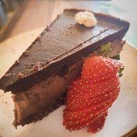 Raw Chocolate Mocha Cake