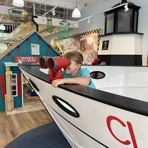 The Children's Museum Of Pooler strives to provide hands-on learning opportunities and joyful discoveries for children and the community thr