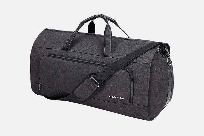 Canway's duffel bag.