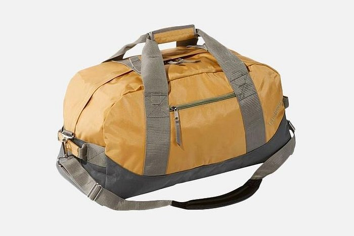 The L.L. Bean's Adventure Duffle in Yellow.