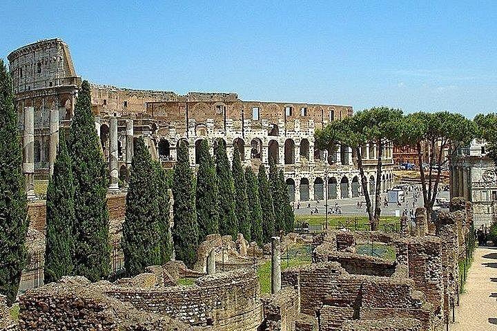 Ancient Roman ruins.