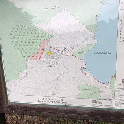 Fung Shi Woodlands - map