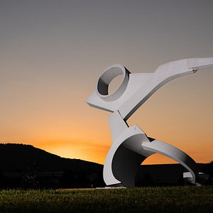 Ardent by Andrew Light at Sunset with Lookout Mountain in the background. Photo by Grant Dotson Photography