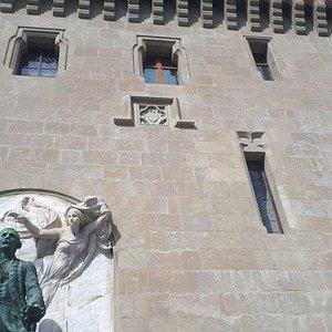 Statue Major Davel - socha
