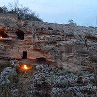 Le grotte illuminate