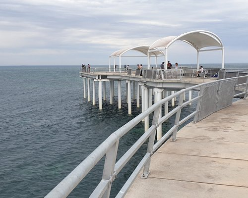 Whyalla Jetty  SA   nearly to the end of the jetty