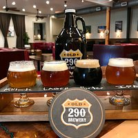 Sample a flight of our craft beer
