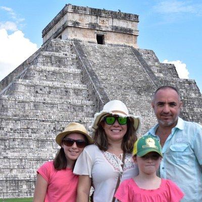 Fun day at Chichén Itzá!!