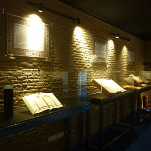 One of the exhibitions in Tourist Gallery, Sultan Iskandar Mosque