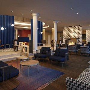 Steigenberger Hotel Treudelberg, Hamburg, Germany - Lobby