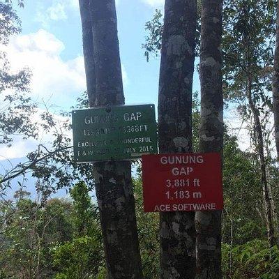 Mount GAP 1,183 metres