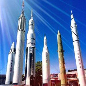 Visit the ROCKET center air space in Huntsville.