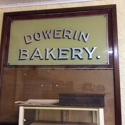 Old bakery sign