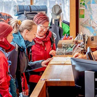 Kilpisjärvi Visitor Centre. Photo: Rami Valonen / Metsähallitus.
