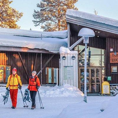Fell-Lapland Visitor Centre / Tunturi-Lapin luontokeskus. Photo: Rami Valonen / Metsähallitus.