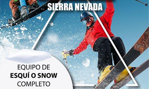 Oferta Equipo Show y Esquí por 8,90€