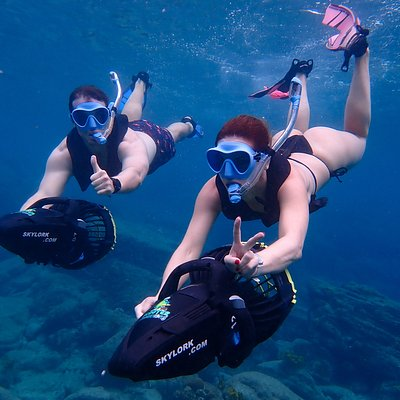 A must do in Antigua! #scootersnorkeling