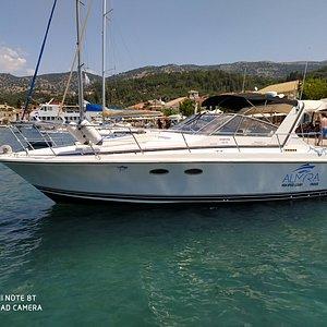 Sivota blue lagoon and Bella Vraka.!! With Almyra luxury Cruises,!!