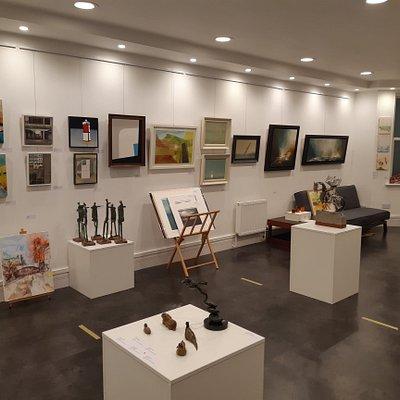 Saul Hay Gallery interior