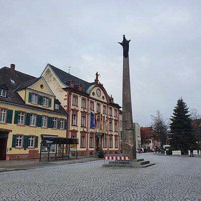 Ursula Säule in Offenburg