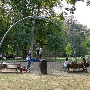 Uccle, Parc de Wolvendael, playground