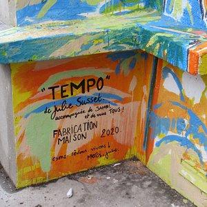 Fresque au 39 rue Saint Blaise
