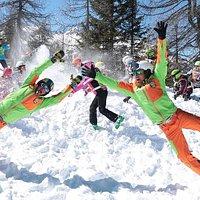 AEvolution Ski School Folgarida Val di Sole Trentino - Corso Sci bambini