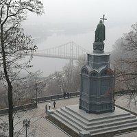 Toller Blick, auch im Nebel