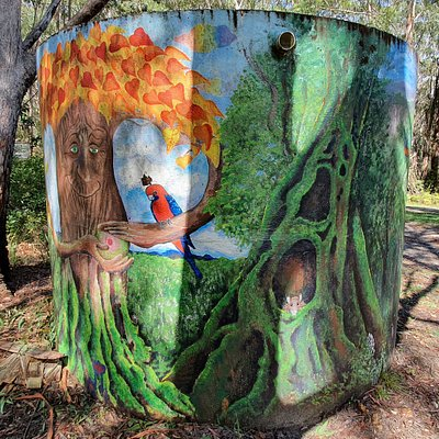 Springbrook Water Tank Art