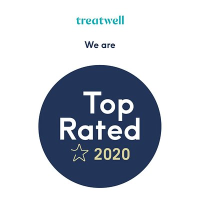 Recognised as a 'top rated 2020' business by the Treatwell agency. Very proud. 🏆