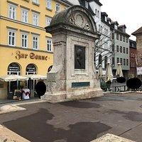 Bismarck-Brunnen Fontain fontána Jena