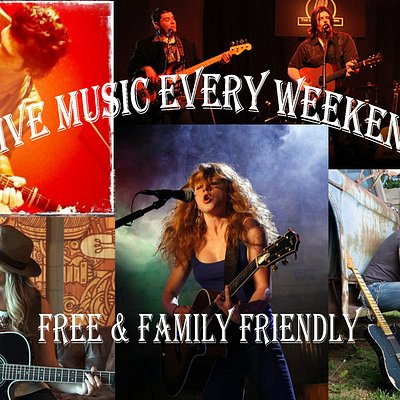 Live music every weekend Friday and Saturday night starting at 7 o'clock from talented singer songwriters from the Nashville music scene. Full menu plus beer serve during the show, seating for couples, groups, and families alike. No cover charge.