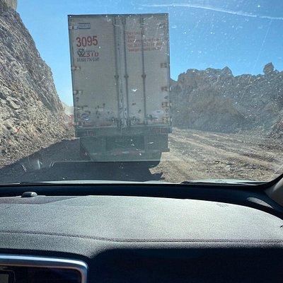 Construction - long delays each way near playa tesoro