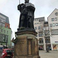 Hanfried Johann Friedrich Denkmal - pomník