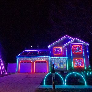 Mussers Christmas Light Show 2020