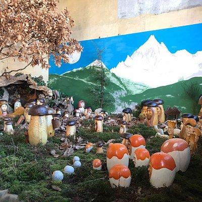 Presepe funghi