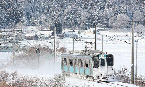 【青い森鉄道】冬の写真