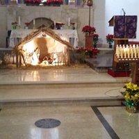 Presepe all'altare