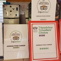 Certificate of Excellence and Travellers' Choice for Five Years in a Row .