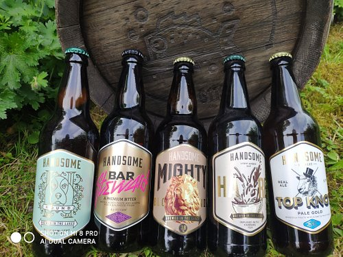 Selection of Handsome Beers