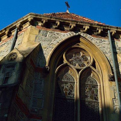 Ментон. Церковь Святого Иоанна. Элементы архитектуры