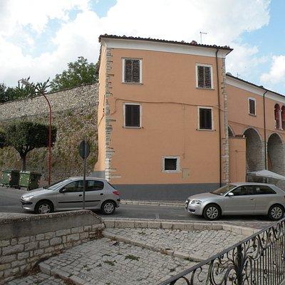 Palazzo baronale Zampini - P.zza A. Volta/Corso V. Emanuele