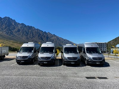 A good selection of our luxury vans are available in Queenstown.