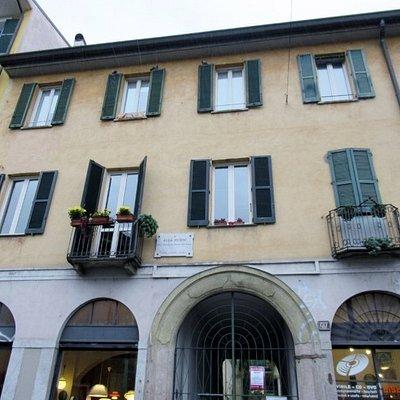 La casa dove abitò Alda Merini