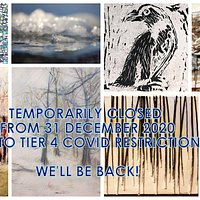 The gallery is temporarily closed due to Tier 4 COVID restrictions.