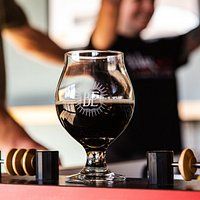 Peanut Butter stouts and foosball
