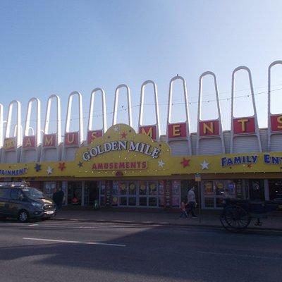 Golden Mile Amusements, Blackpool