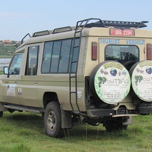 The Toyota Landcruiser is the heart beat of our safaris. This 4x4 safari jeep is fitted with a fridge, each seat is window facing and has a roof hatch to ensure you have 360 degree land scape and game views.