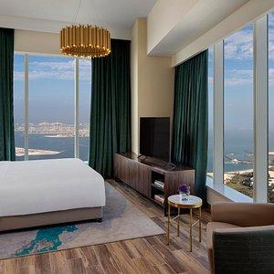 Superior Seaview 3 Bedroom Apartment Master Bedroom
