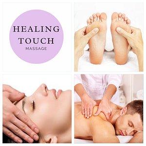 Healing Touch Massage and Reflexology